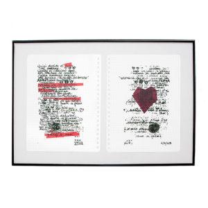 Corazón grabado en un árbol.Paisaje de Amor Delia Rubio