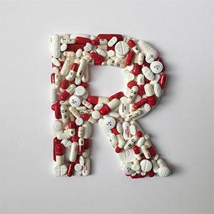 Letra R por Delia Rubio