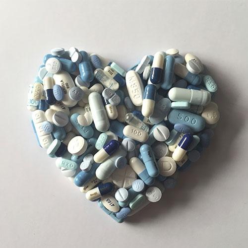 Corazón pastillas Delia Rubio 96